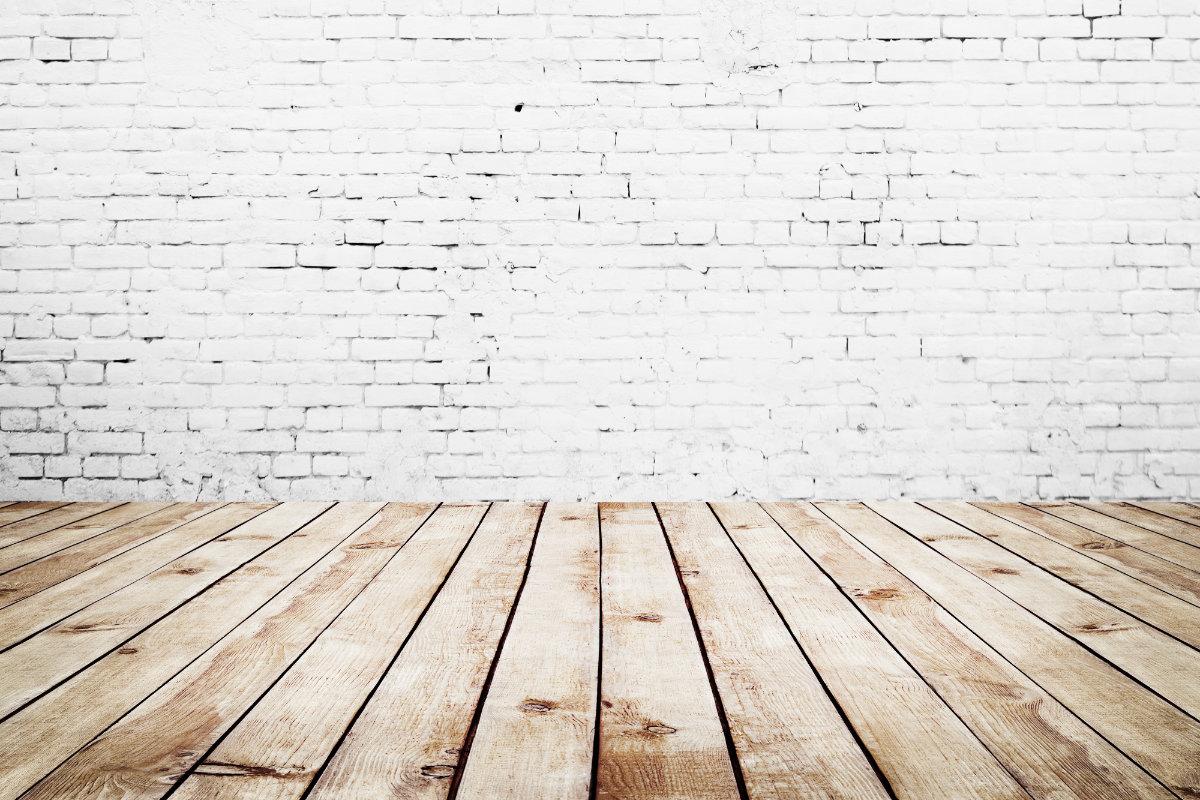 chape op plankenvloer